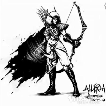 dota手绘英雄-moba娱乐大厅
